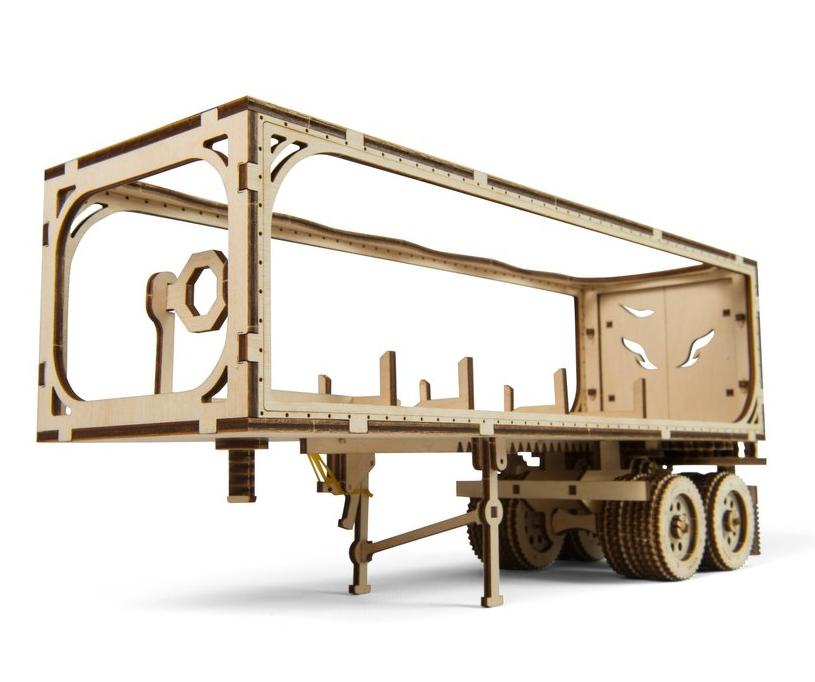 UGears Trailer for Heavy Boy Truck VM-03 Wooden Kit