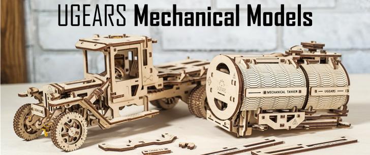 Ugears UK   Mechanical Models Wooden Kits   Hobbies