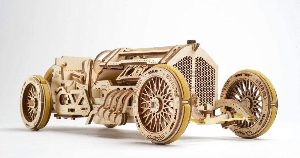 Ugears U 9 Grand Prix Car Wooden Kit
