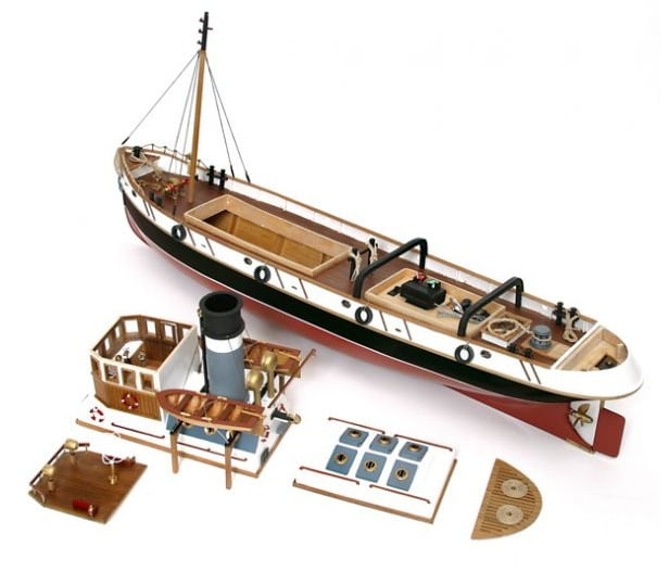 an illustrated guide to building model boats various