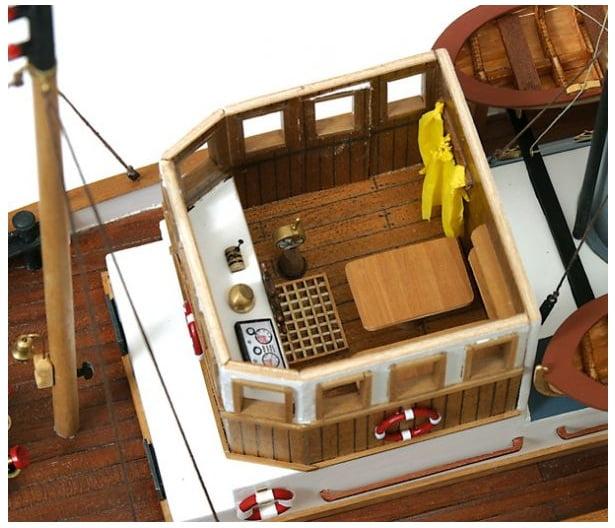 Occre Ulises Tug 1:30 Scale Model RC Wood & Metal Boat Kit| Hobbies