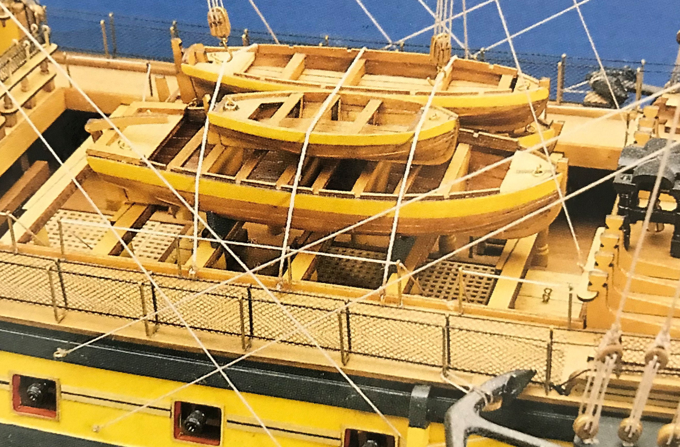 Boat Kits Product : Hms victory high spec model boat kit from mantua hobbies