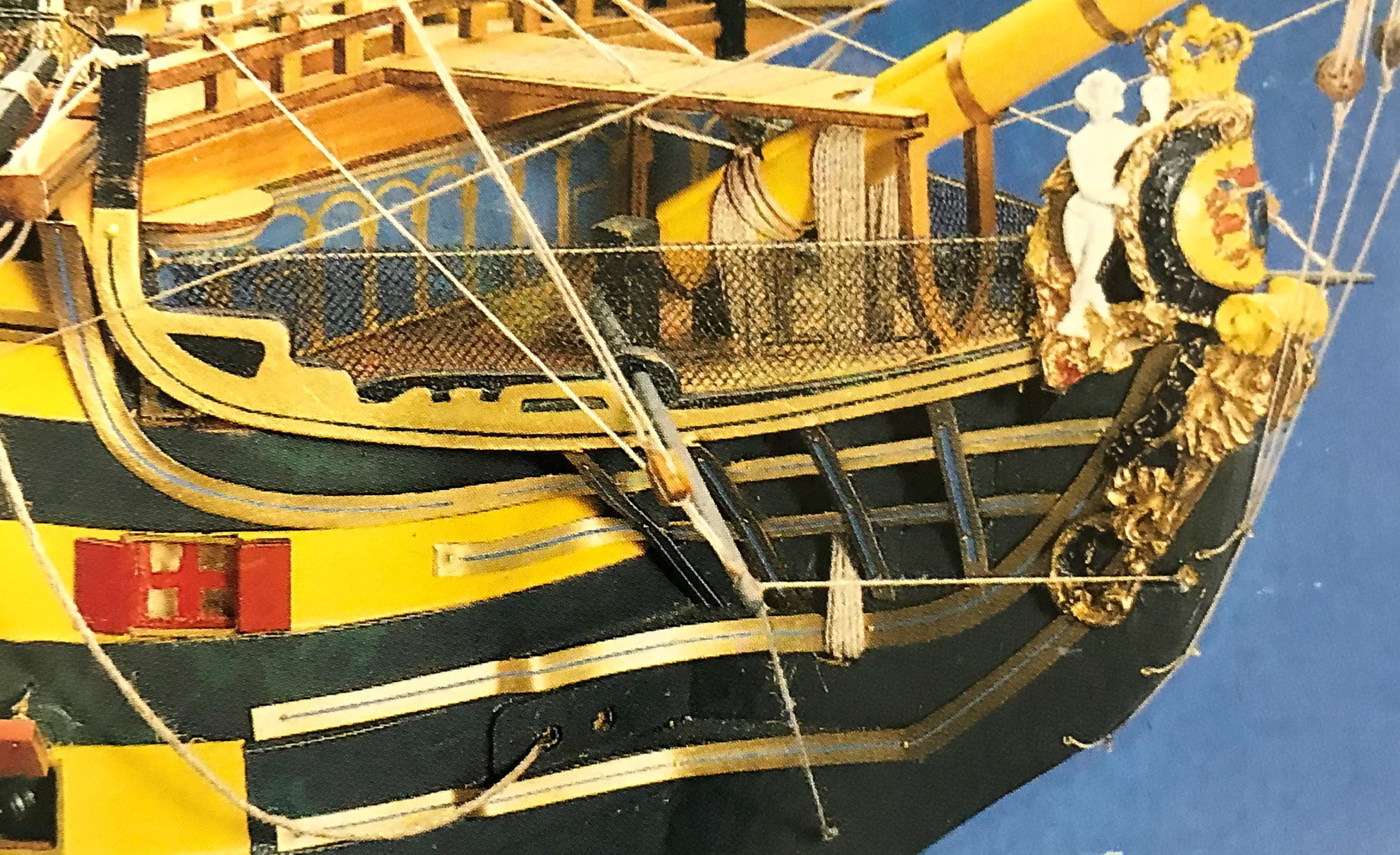 HMS Victory (High Spec) Model Boat Kit From Mantua   Hobbies