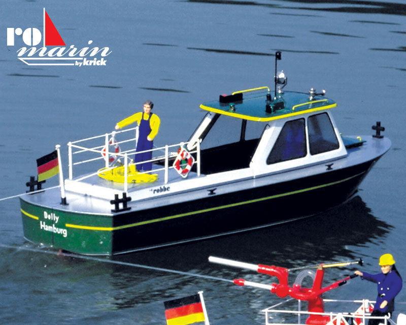 Krick Romarin Dolly Harbour Launch Model Kit Amp Fittings