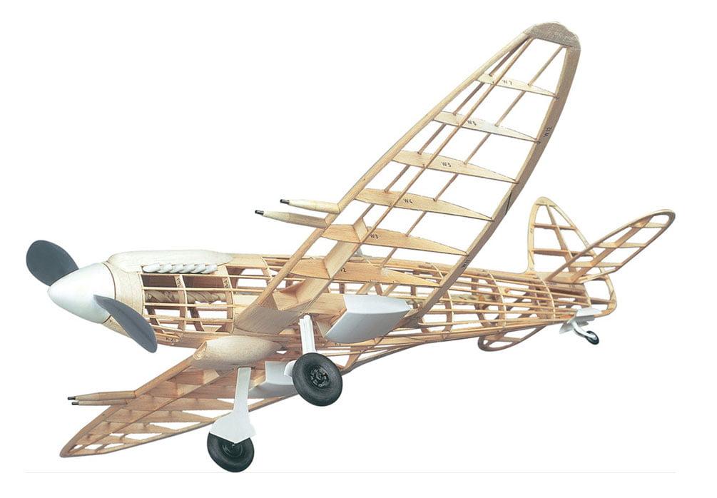 Westwings Supermarine Spitfire 22 24 Wooden Balsa Model