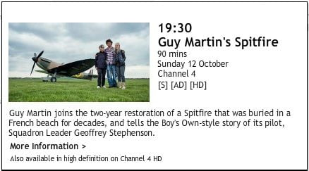 Channel 4 Spitfire