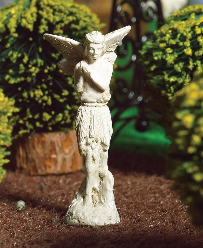 Miniature fairy statue for 12th scale dolls house garden 4956 hobbies - Fairy statues for sale ...
