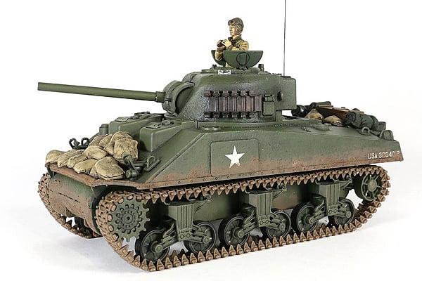 Forces of Valor RC US Sherman Battle Tank