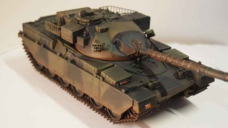 British Chieftain Tank