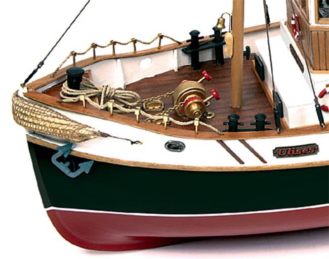 Occre Ulises Tug 1:30 Scale Model RC Wood & Metal Boat Kit ...
