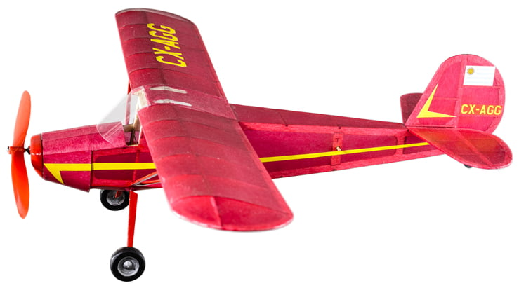The Vintage Model Co Cessna 140 Balsa Plane Kit Vm08