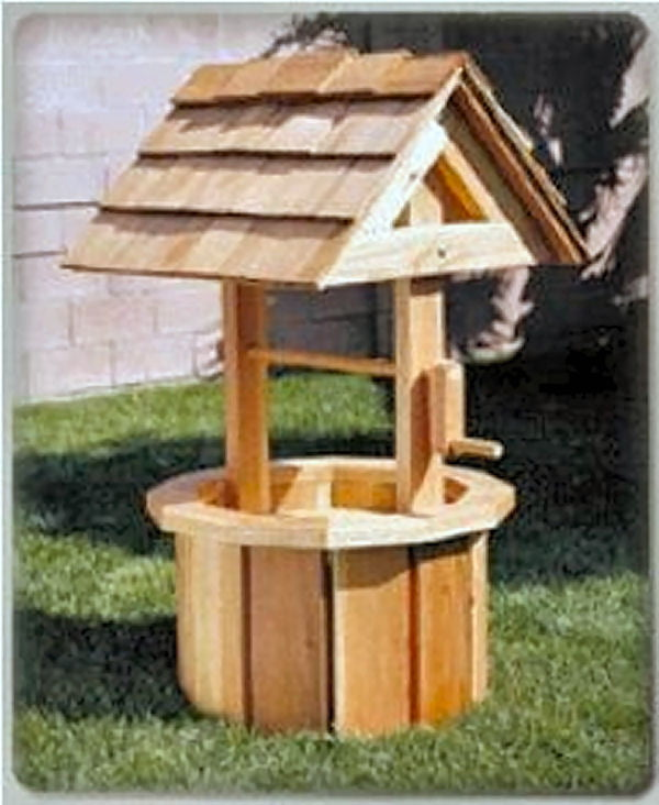 Outdoor Wishing Well Plan Hobbies